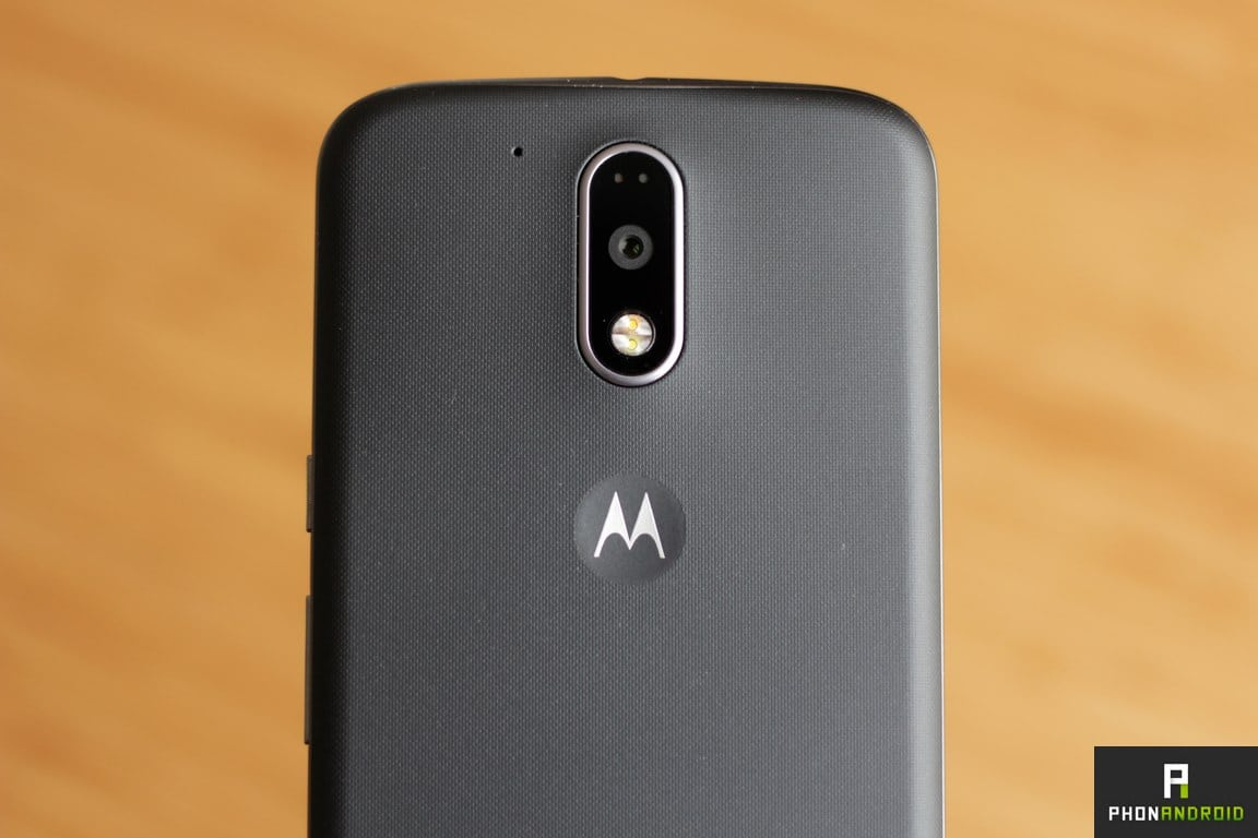 moto g4 plus appareil photo