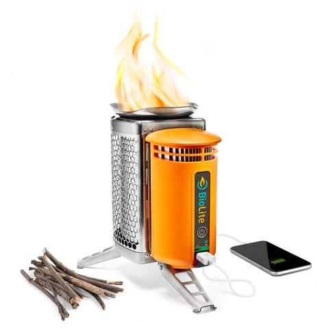 recharge smartphone CampStove