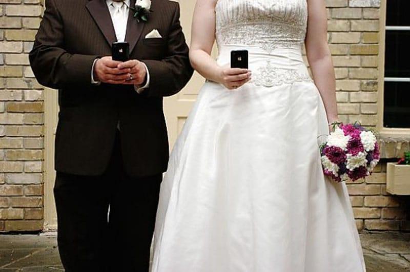 smartphone divorce nuit noces