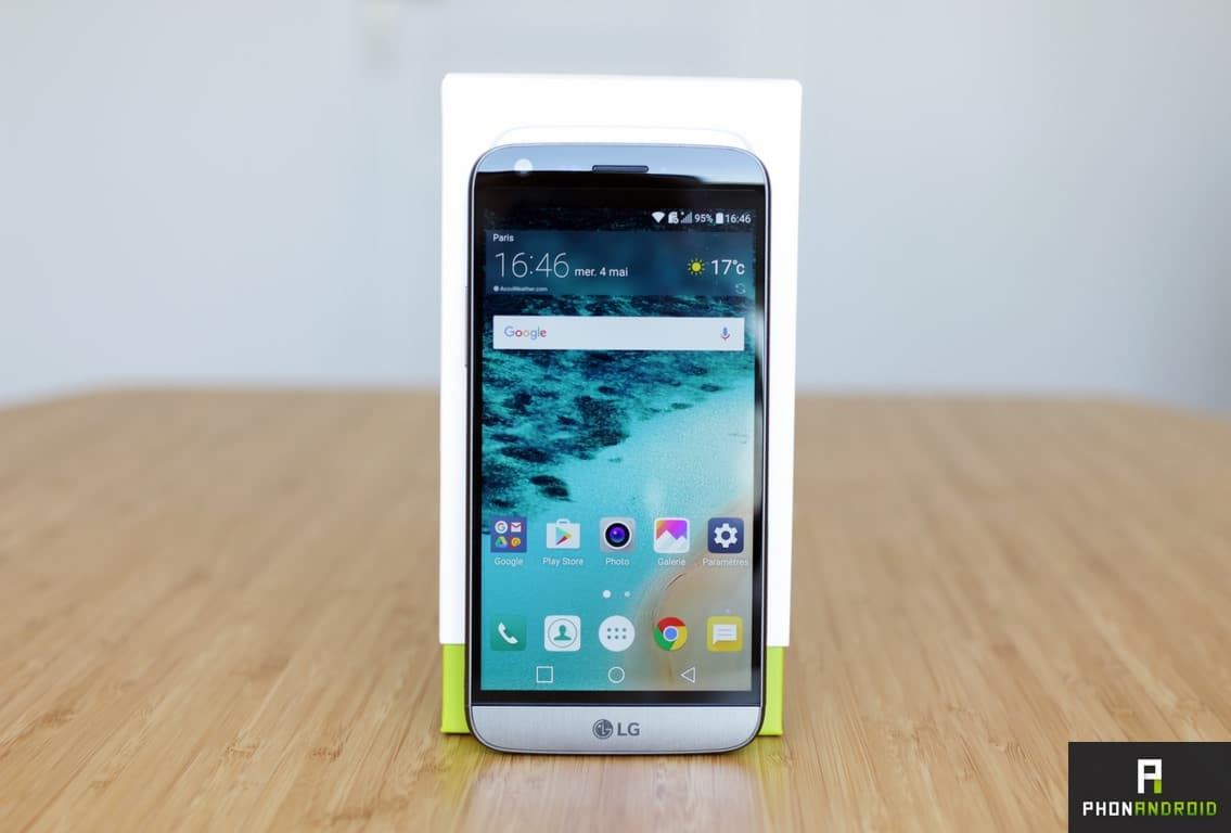 Test LG G5 : un photophone au top, des modules qui font flop