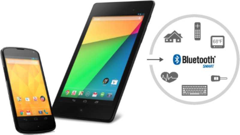 Android 4.3 et le support de Bluetooth Smart disponibles dans les mois à venir