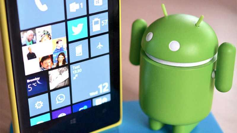 Android et Windows Phone pourraient se partager le marché d'ici 2017