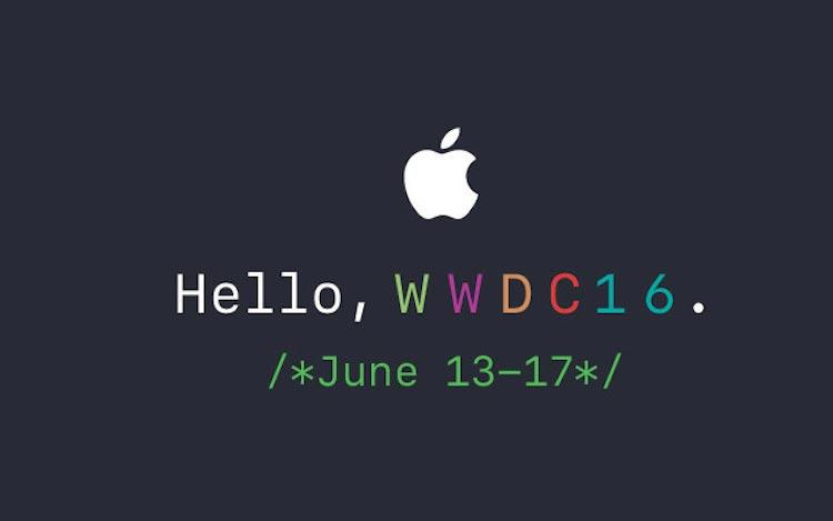 Keynote Apple juin 2016