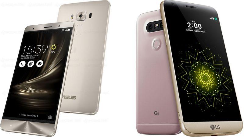 asus zenfone 3 deluxe LG G5