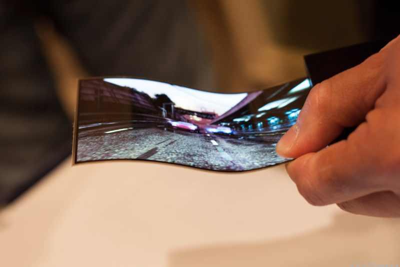 Les écrans flexibles, la prochaine révolution dans les mobiles