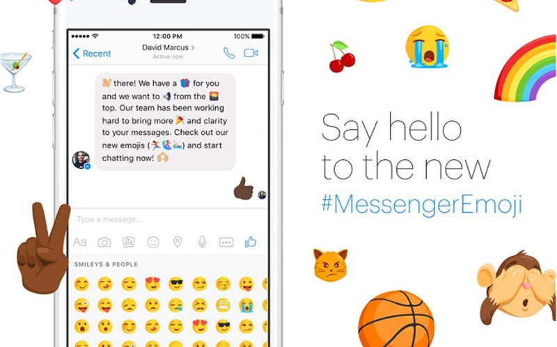 Facebook Messenger émojis