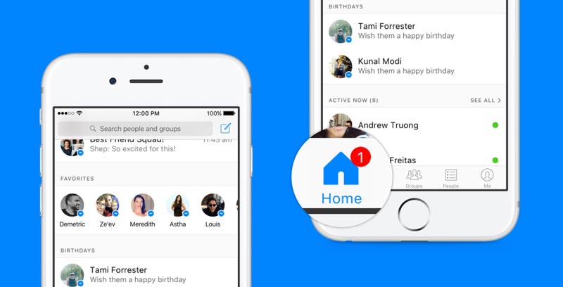 Facebook réinvente Messenger avec une nouvelle interface bientôt disponible