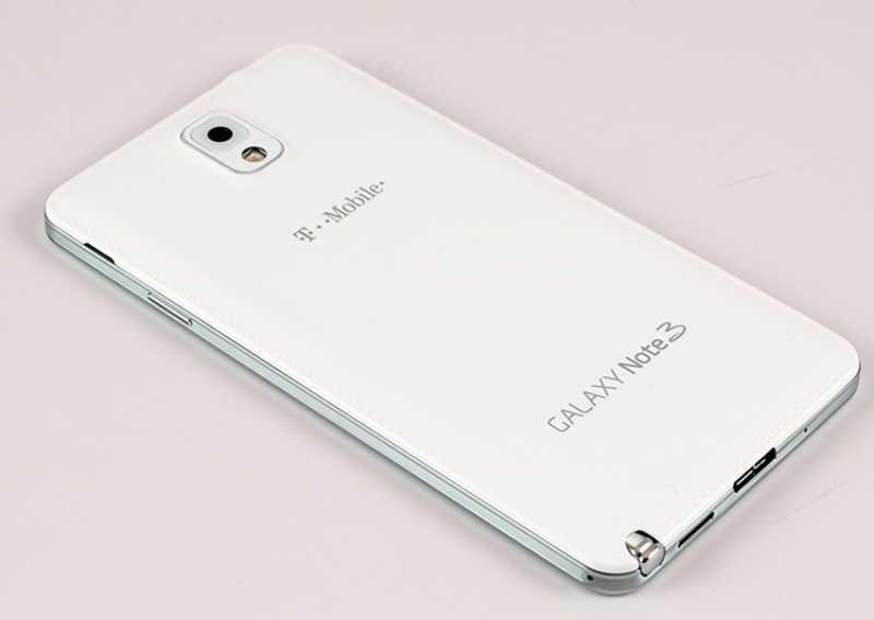 Un Galaxy Note 3 en plastique comme le Galaxy S4