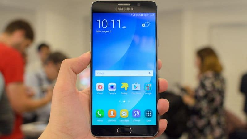 galaxy note 6 scanner iris