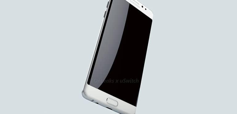 Galaxy Note 7 Edge rendu