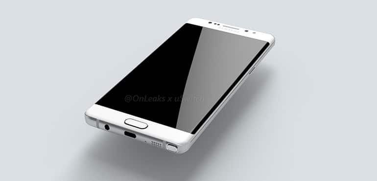 Galaxy Note 7 Edge ecran