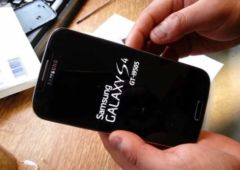 galaxy s4 debut solution problemes de son