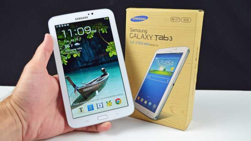 Galaxy Tab 3 7.0 : le prix de la tablette dévoilé par accident