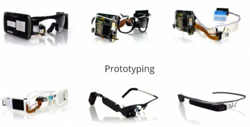 Google révèle les prototypes de Google Glass
