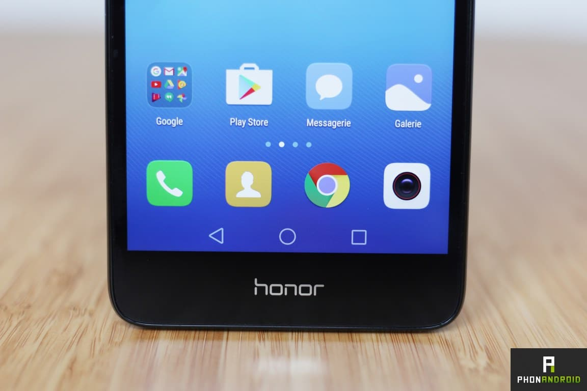 honor 5c touche tactile