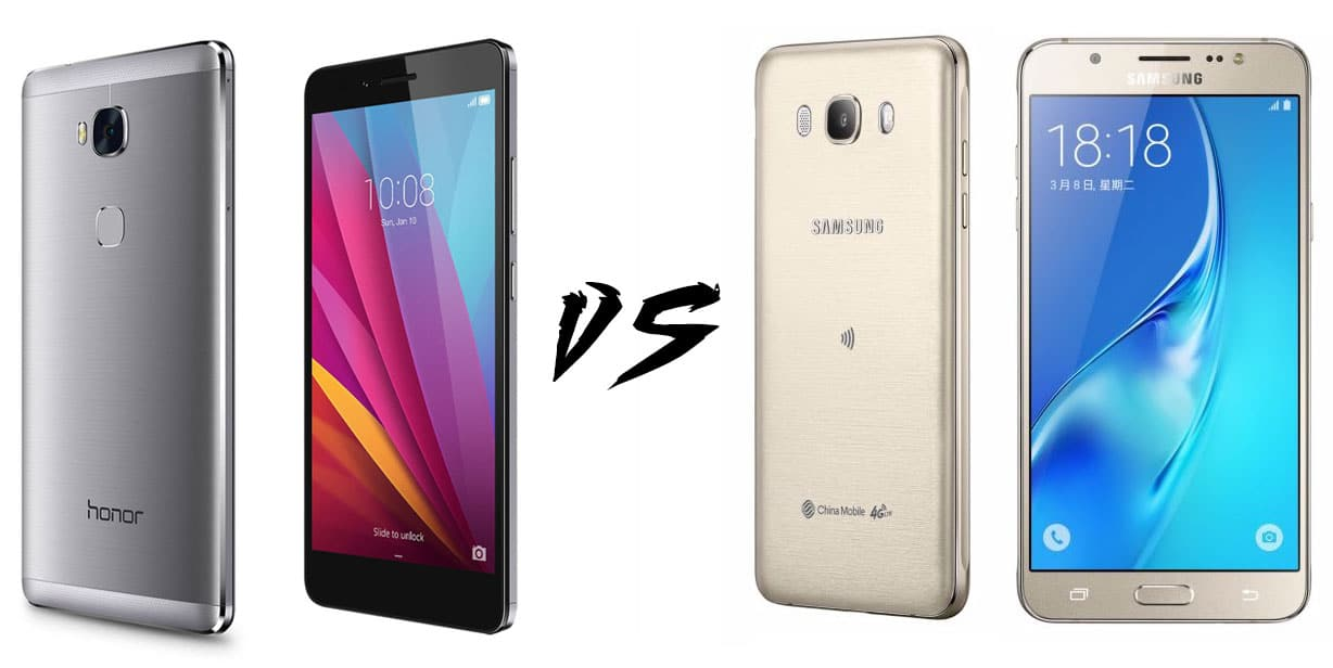 honor 5x vs samsung galaxy j7 2016