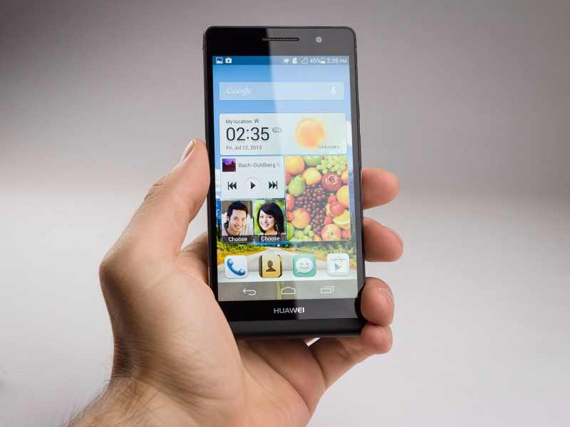 Huawei Ascend P6 : premières photos pour le haut de gamme du numéro 3 mondial