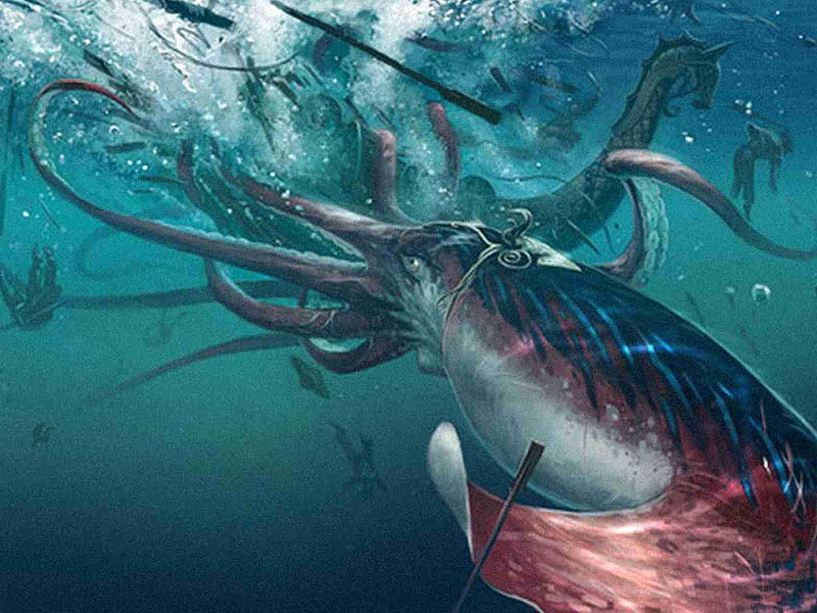 kraken google earth
