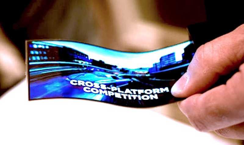 LG: un écran OLED flexible et incassable de 5 pouces