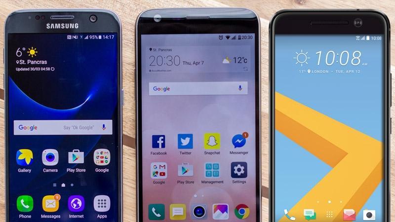 Notre sélection des meilleurs smartphones Android du moment