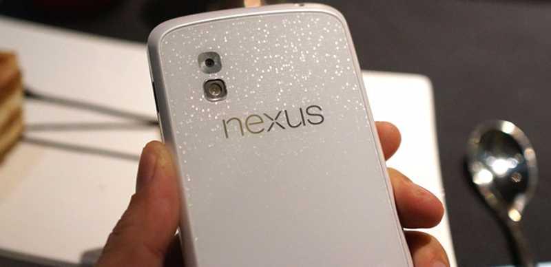 Nexus 4 blanc sous Android 4.3 disponible le 10 juin ? La nouvelle Nexus 7 en juillet ?