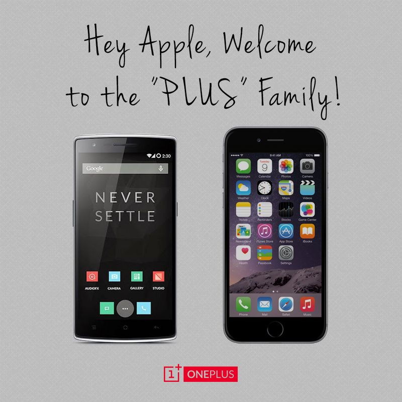 oneplus iphone 6 plus