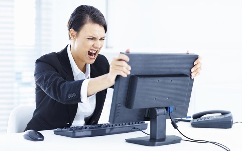 Panne informatique
