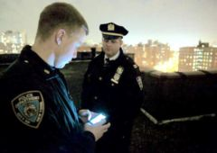 police new york combat crime avec 400 telephones android