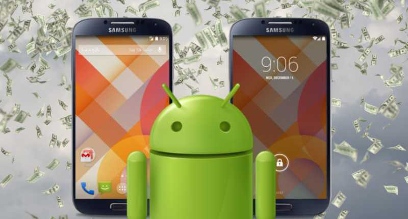 Samsung cannibalise 95% des revenus d'Android