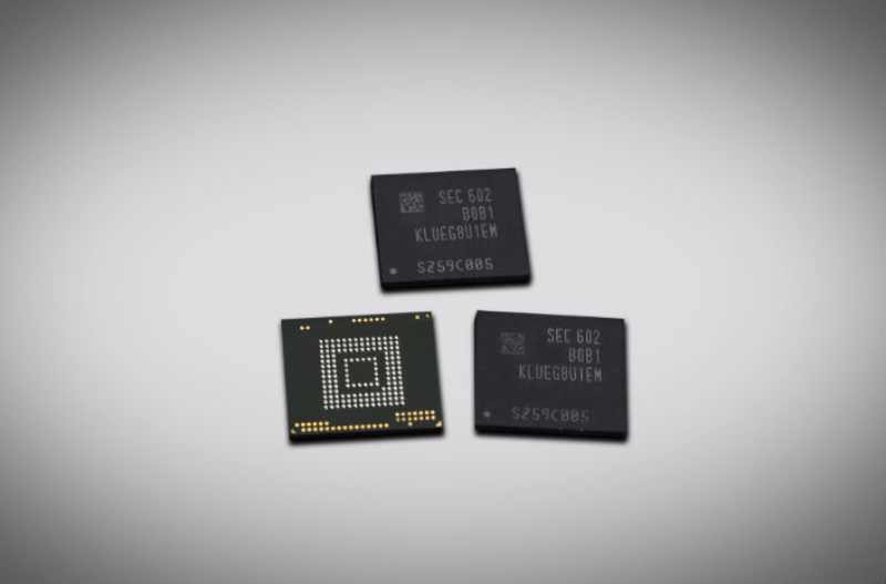 Des puces mémoire NAND haute densité de Samsung