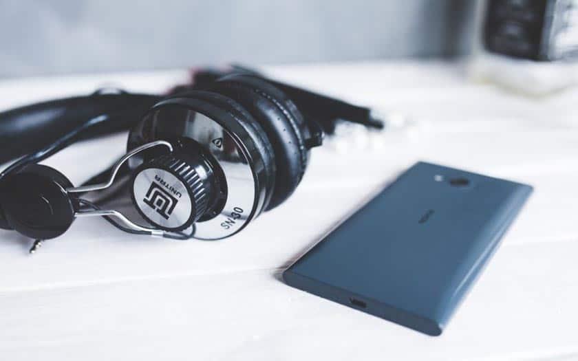 smartphone casque musique