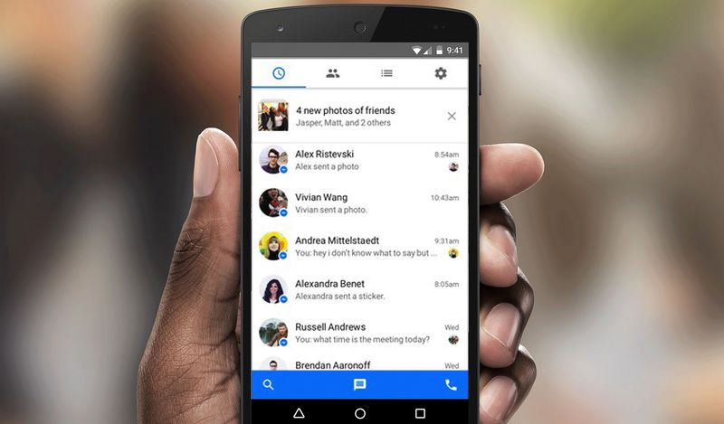 sms facebook messenger