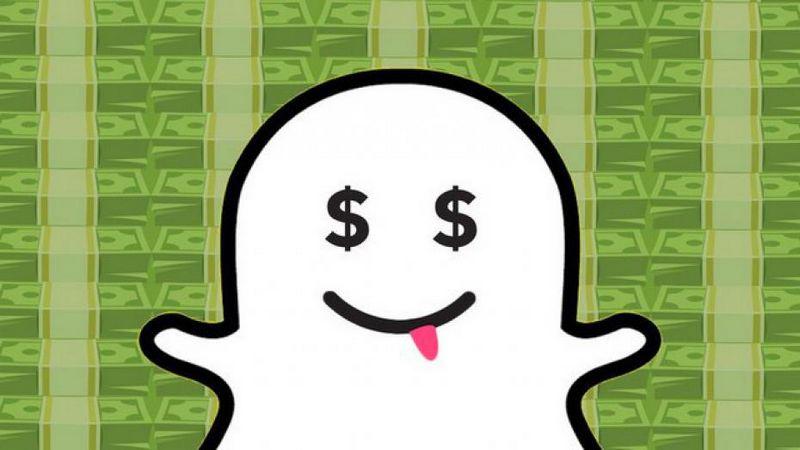 snapchat publicite