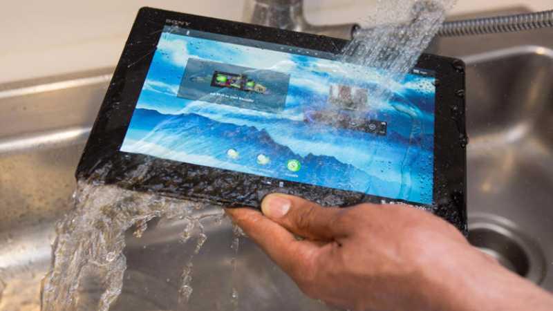 La Sony Xperia Tablet Z peut aussi filmer sous l'eau [Vidéo]