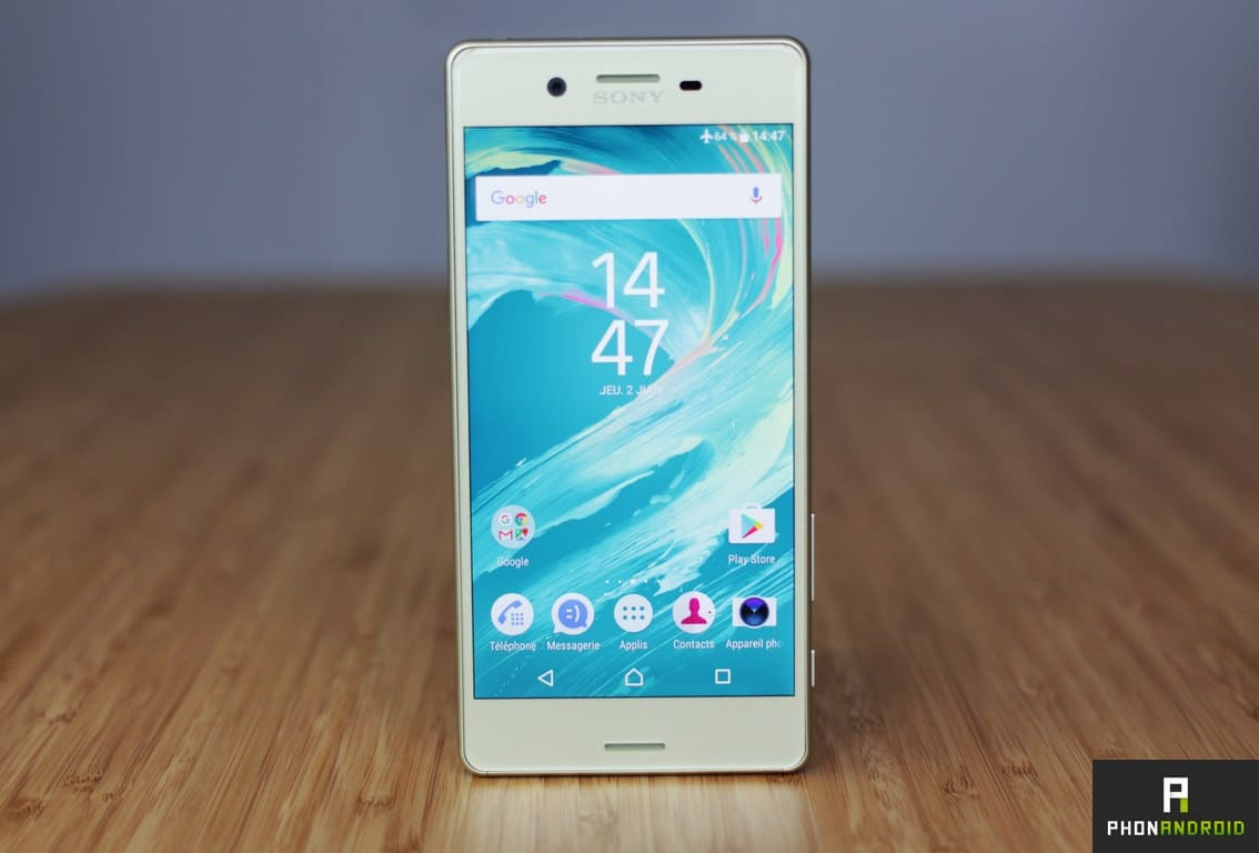 sony xperia x test