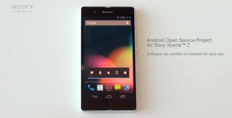Un Sony Xperia Z Google Edition sous Android 4.3 annoncé en juillet ?