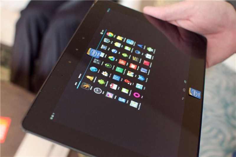 Tablette Intel Bay Trail-T avec CPU Intel Silvermont et écran 2560 X 1440 pixels