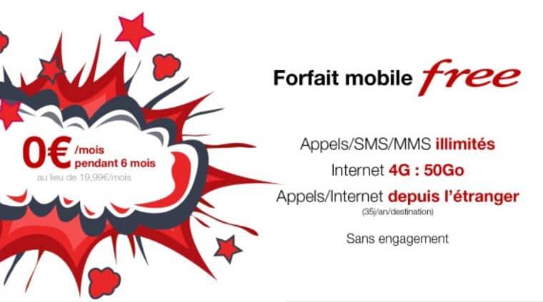 vente privée free mobile gratuit