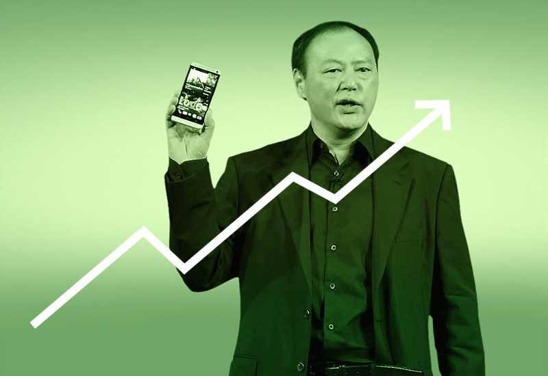 Les ventes du HTC One font rebondir le chiffre d'affaires d'HTC de 50%