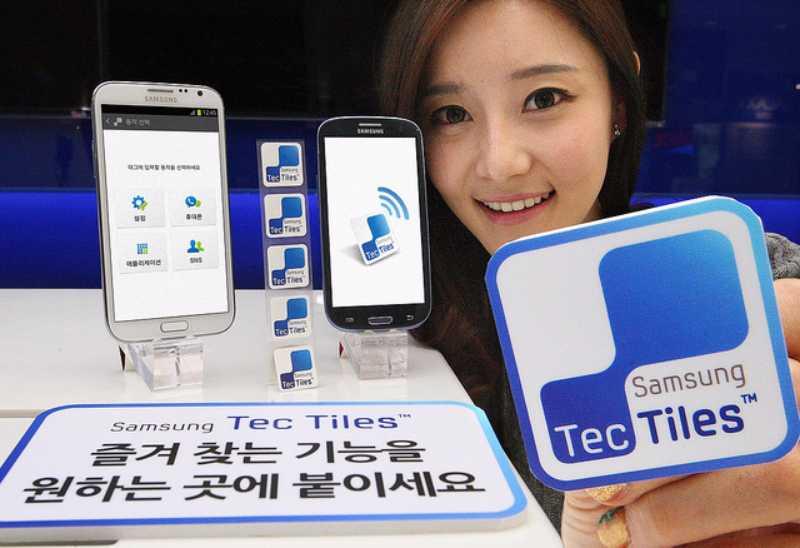 Les vignettes NFC TecTiles 2 pour le Galaxy S4 disponibles