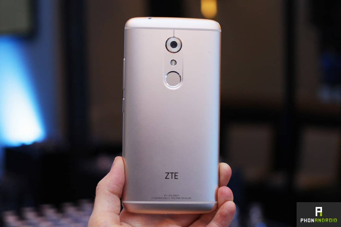 only test du zte axon 7 with