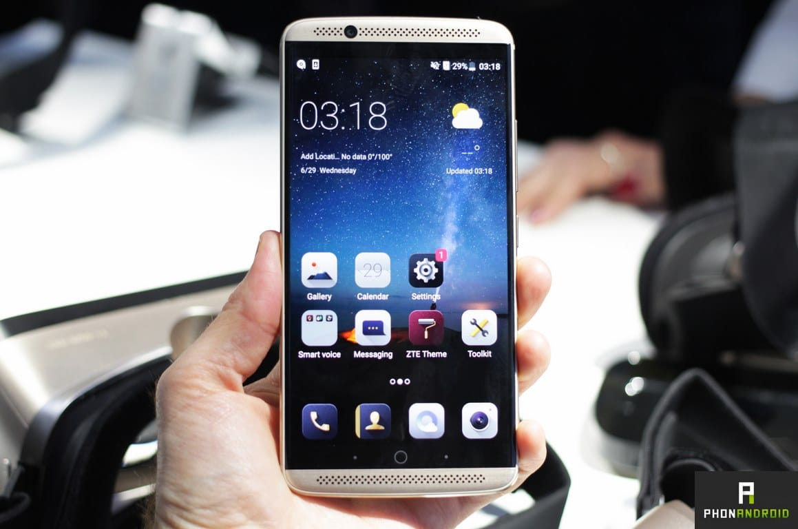 will bring zte axon test with these reasons