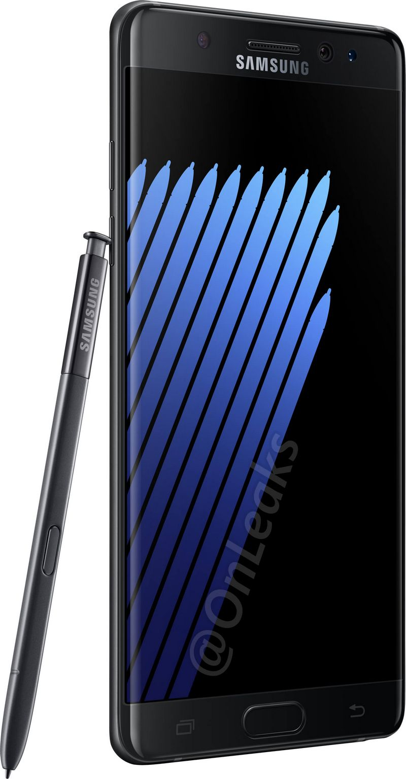 galaxy note 7 noir