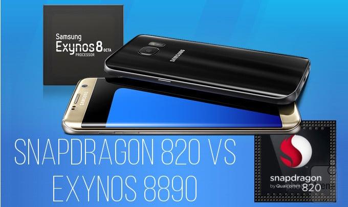 Galaxy S7 : en autonomie, la version Exynos explose le Snapdragon 820 américain