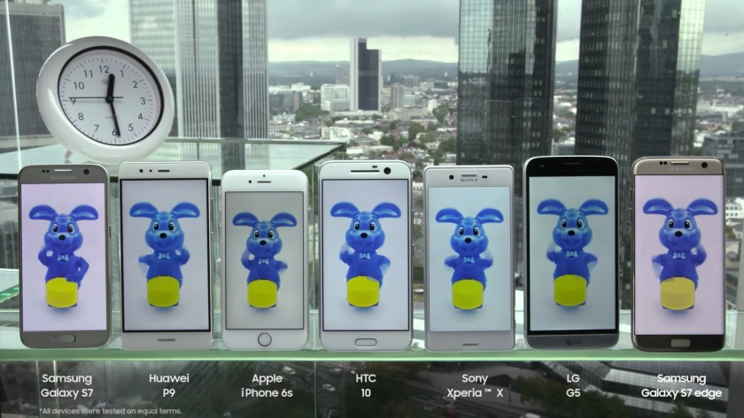 Samsung-Batterie-Test