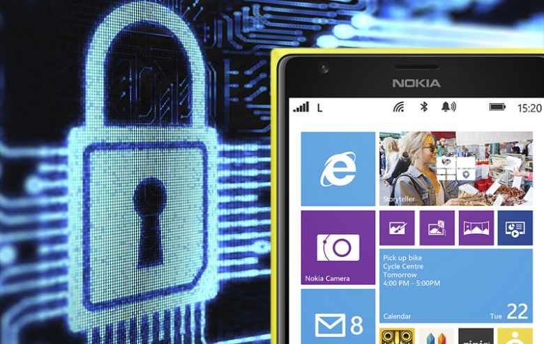 windows phone securite