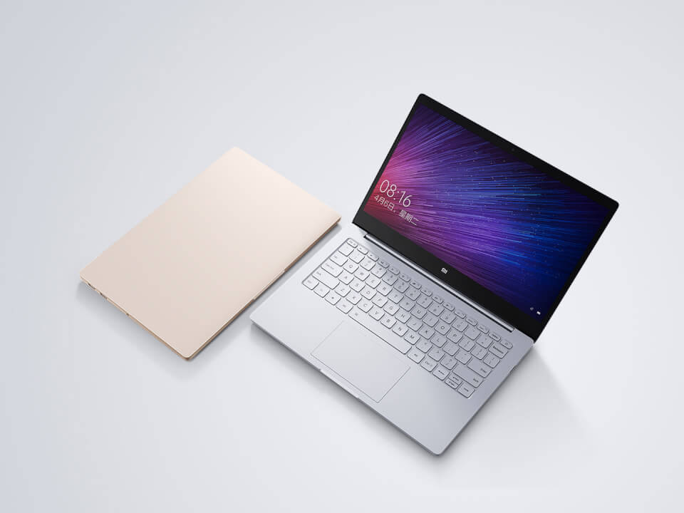 Xiaomi Notebook Air officiels : deux MacBook sous Windows 10 à 480 et