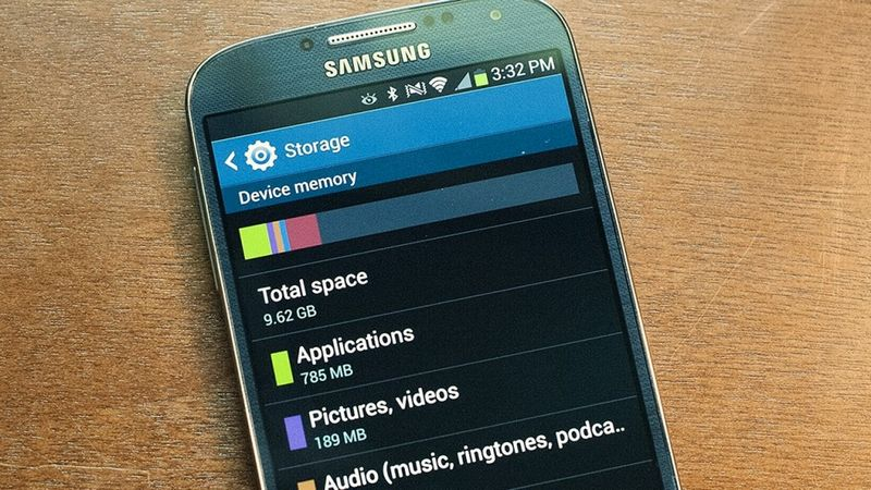 android stockage
