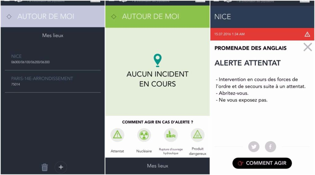Attentat de Nice : l'application SAIP du gouvernement sonne l'alerte trop tard