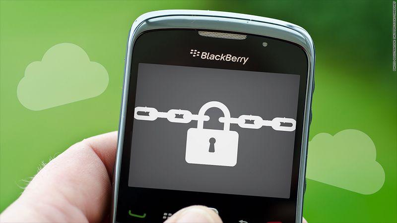 blackberry securite